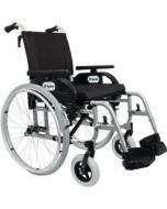 Dolphin rullestol for tyngre brukere, 57 cm